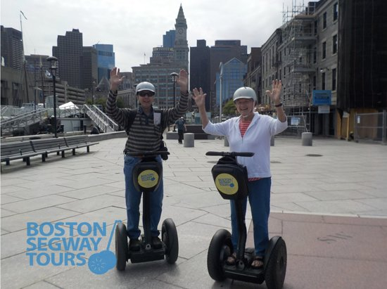 Boston Segway Tours: Doesn't matter who you are, you're gonna #love ❤️ this tour! View our endless rave #reviews on #
