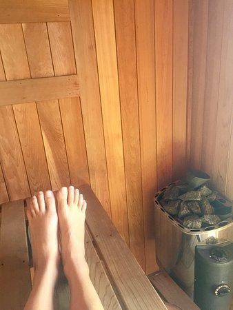 Newrybar, Australia: Sauna!!!