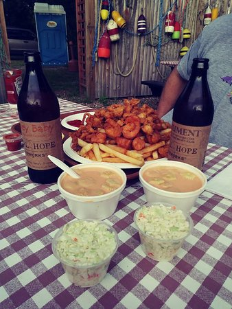 North Eastham, MA: The Fisherman's Platter, Lobster Bisque, & Shoal Hope Cider