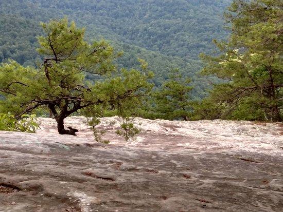 Bee Rock Overlook : Awesome