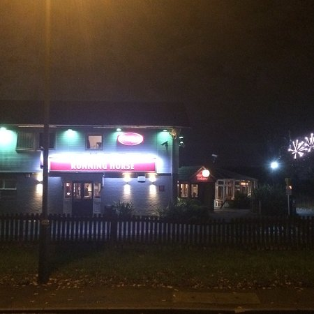 Sunbury, UK: New Year's Eve at the Runner and the staff that where there