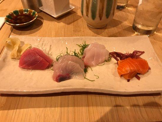 Sushi Yasuda: Sashimi - part of omakase