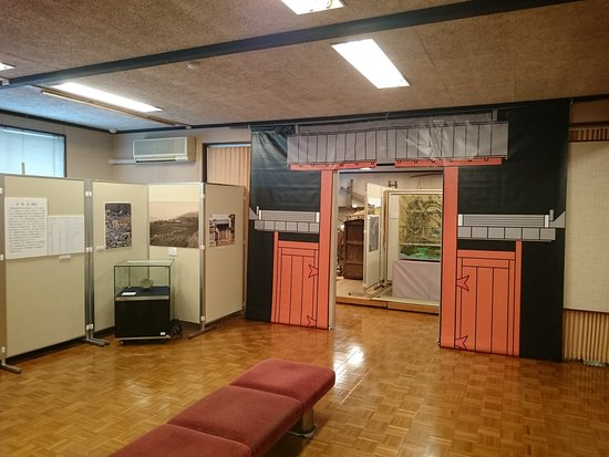 Kotacho Folk Museum: 深溝城についての展示もあった