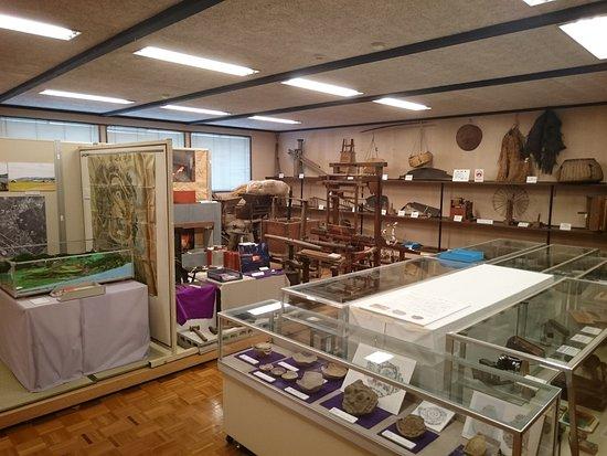 Kotacho Folk Museum: 整頓された館内