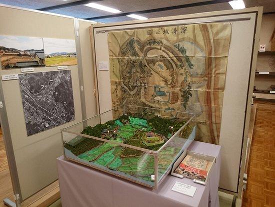 Kotacho Folk Museum: 深溝城についての展示