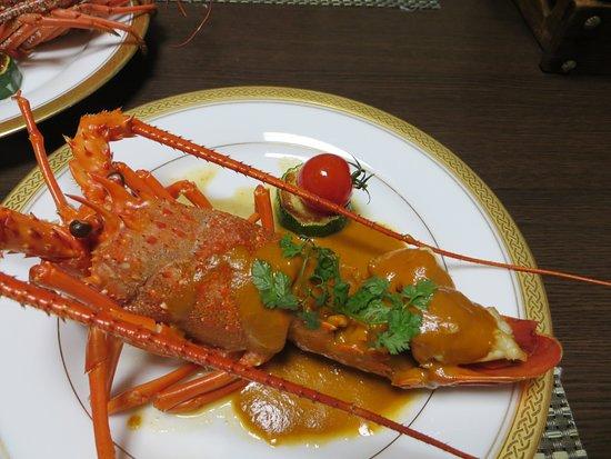 Nikko Senhime Monogatari: kaiseki dinner - lobster