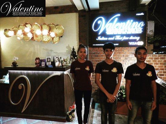 Valentino Restaurant & Wine Bar: Part of our Staff