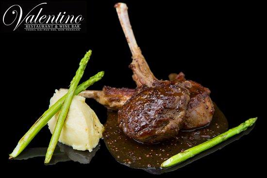 Valentino Restaurant & Wine Bar: Rack of Lamb