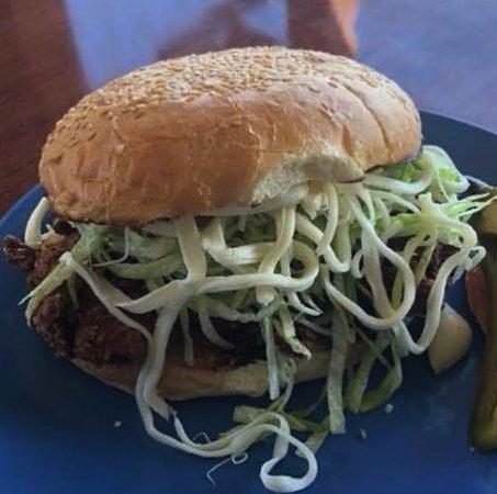 Cemitas 1: Puebla Hot Chicken Sandwich