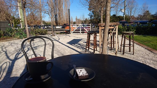 Jugiong, Australia: nice outdoor seating area