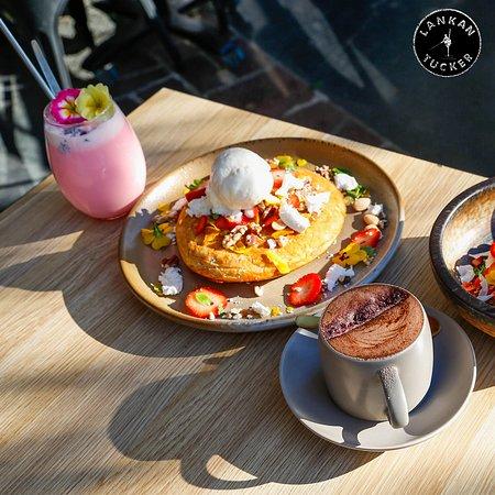 Lankan Tucker: chai pancake