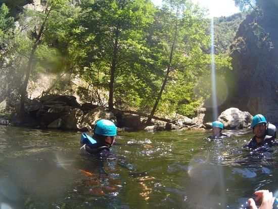 Prades, Francia: dans l'eau