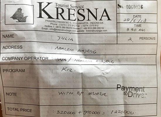 Kreshna Tourist Service - Day Tours