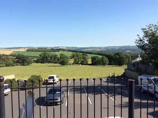 Duke of Wellington Inn: Terrace view