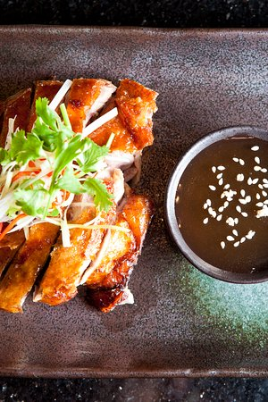 Asia Republic: Cantonese Roasted Fragrant Duck with Plum Sauce