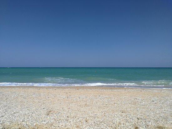 Litorale Scossicci: Spiaggia
