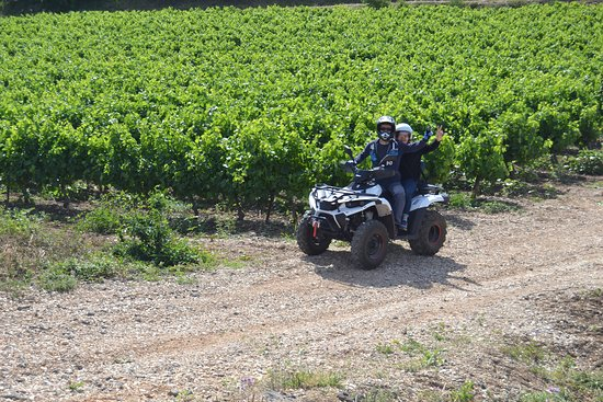 Quad Biking: Randonnée en quad dans la région de Lacoste