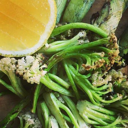 Van Der Linde Restaurant: Green is good...