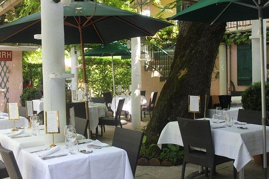 Restaurant Le Vallon: La terrasse