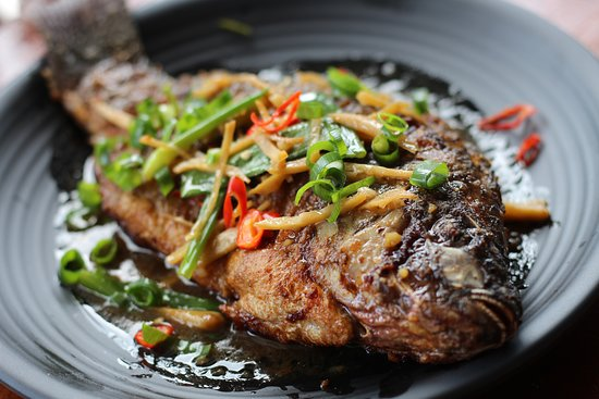 Kun's Stick and Bowl Restaurant: Saute Fish - Php380