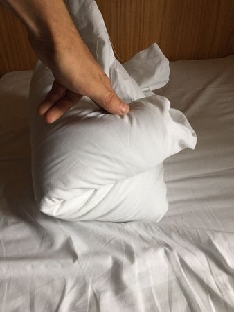 Viking Hotel : Only given one pillow that was wafer thin!