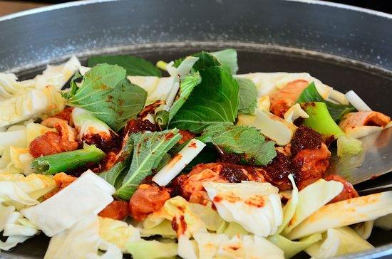 Kim Yujeongyeok Chicken Ribs: 辣炒雞排