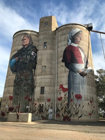 Devenish Silo Art Photo