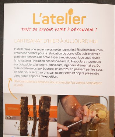 L'Atelier des Savoir-Faire: Le flyer : L'artisanat en marche