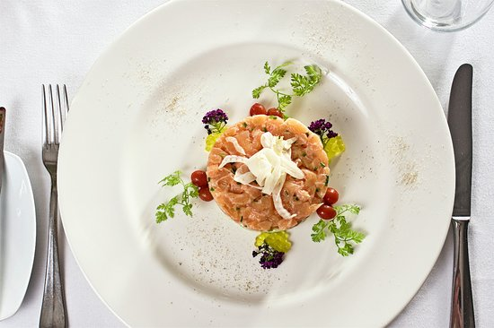 Maumm Bistro: The salmon tartare. Highly recomended by our clients :)