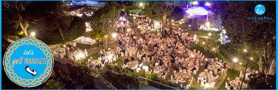 Poseidonia Beach Hotel: Wedding Garden