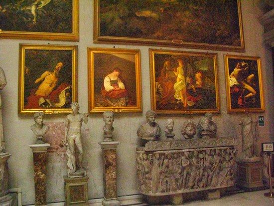 Palazzo Doria Pamphilj: I tre Caravaggio poco valorizzati.