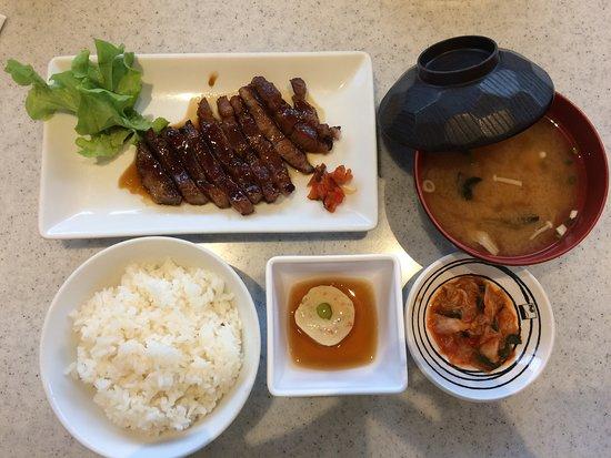 Fuji Japanese Restaurant: porky set