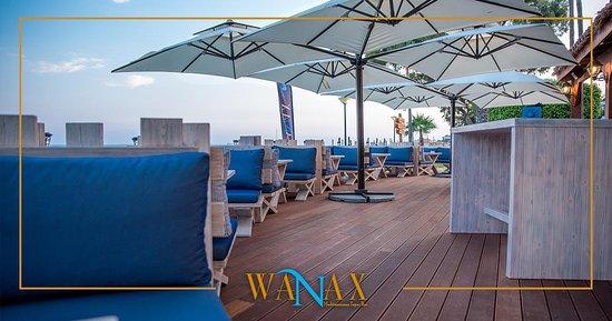 Poseidonia Beach Hotel: Wanax Beach Bar