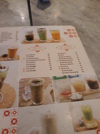 Warung Leko: pilihan minuman