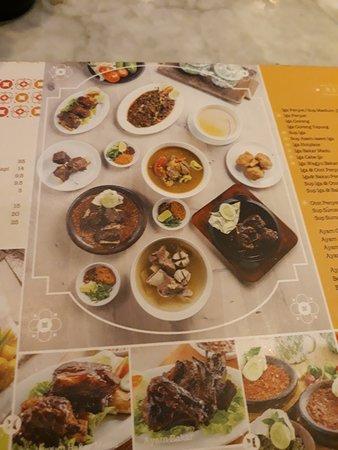 Warung Leko: daftar menu