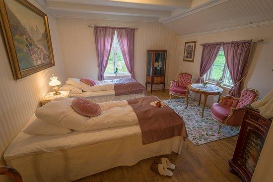"Klokkergården Kystturisme AS: The room ""jenteloftet"""