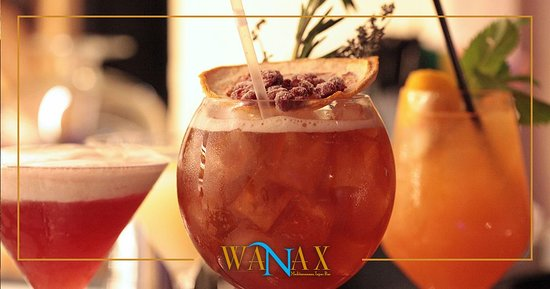 Poseidonia Beach Hotel: Signature Cocktails at our Wanax Mediterranean Tapas Bar