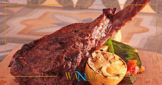 Poseidonia Beach Hotel: Tapas Menu at our Wanax Mediterranean Tapas Bar
