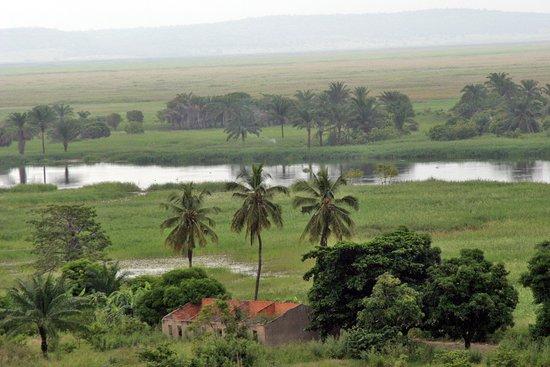 view of Kwanza River from Calumbo, Angola