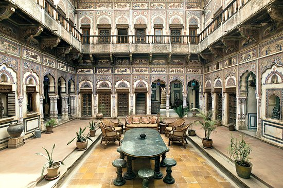 Le Prince Haveli - French Homestay: Courtyard