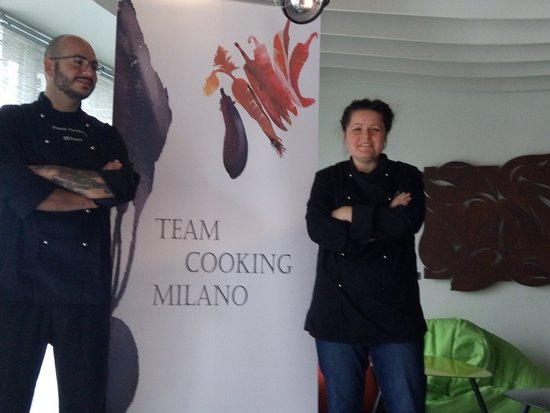 Team cooking Milan