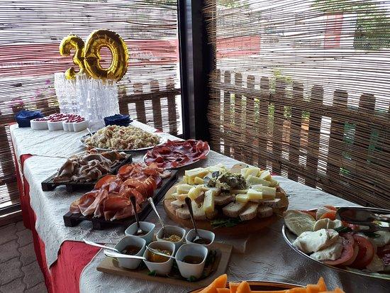 Osteria I Giardini di Giunone: Compleanno
