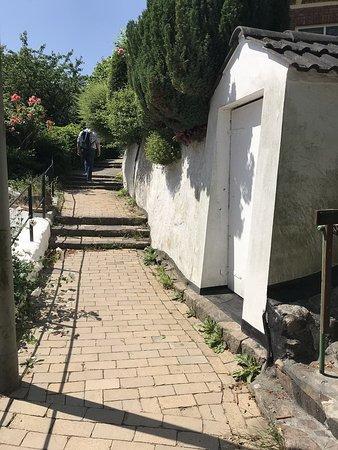 Treppenviertel Blankenese: gemütliche Treppen