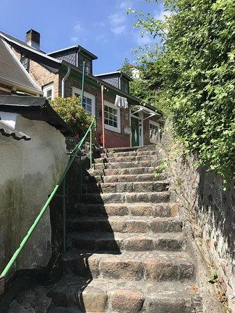 Treppenviertel Blankenese: Treppauf zum Haus