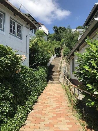 Treppenviertel Blankenese: Treppen