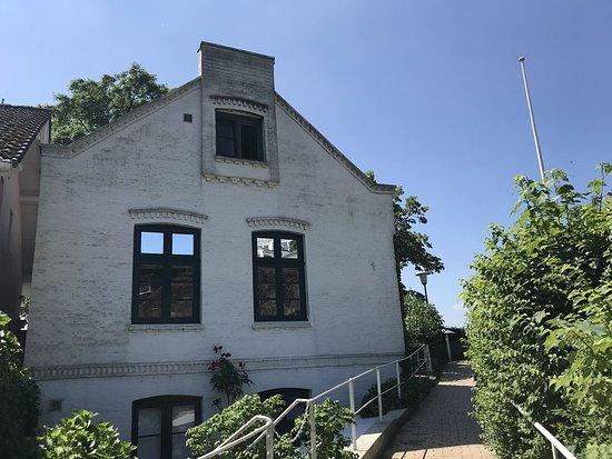 Treppenviertel Blankenese: schöne Häuser