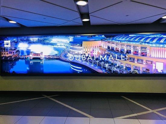 Дубайский торговый центр: WELCOME TO DUBAI MALL