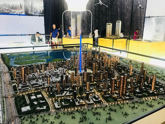 Дубайский торговый центр: BLUE