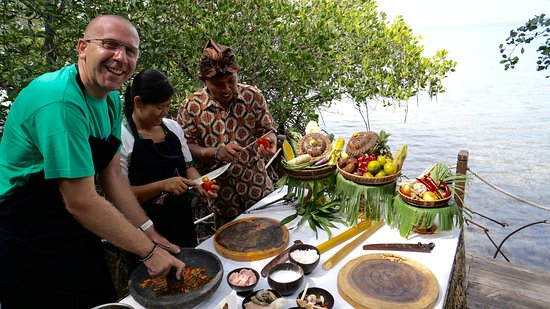 West Bali National Park, Indonesia: sea front and mangrove surrounding the best place for cooking class
