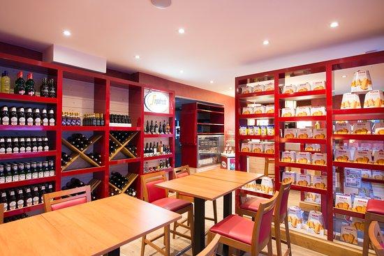 Fabioli Presto: La boutique et l'espace de vente à emporter